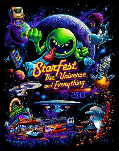 StarFest 2019 T-shirt Art